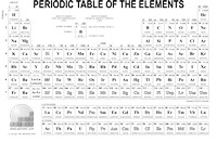 picture about Printable Periodic Table Black and White named Down load printable components - EniG. Periodic Desk of the