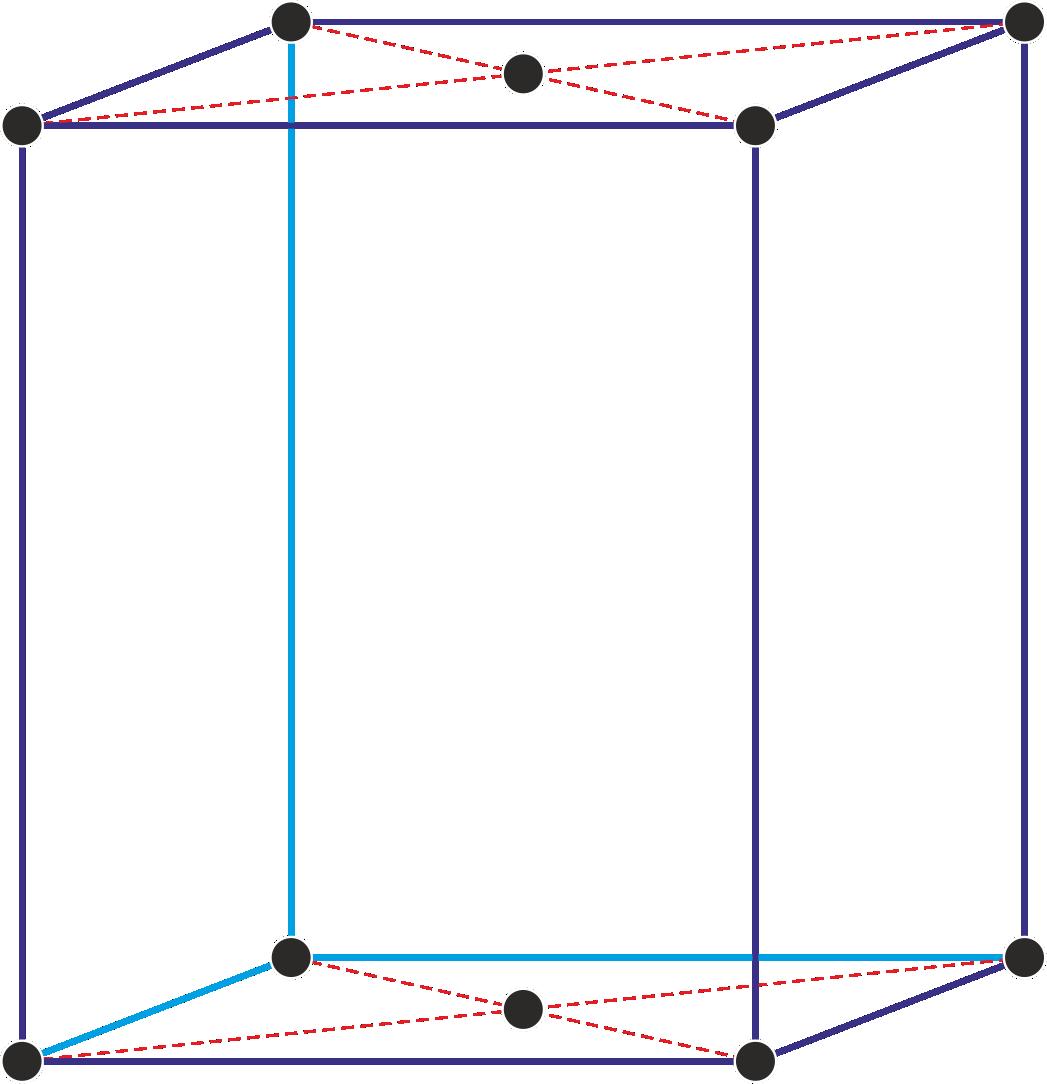 Bazno centrirana ortorompska jedinična ćelija