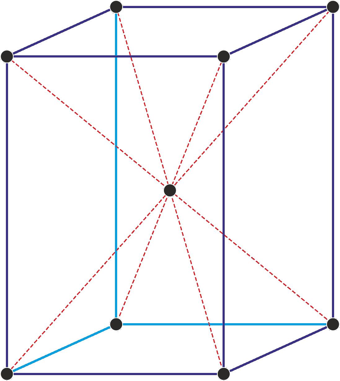 Prostorno centrirana tetragonska jedinična ćelija