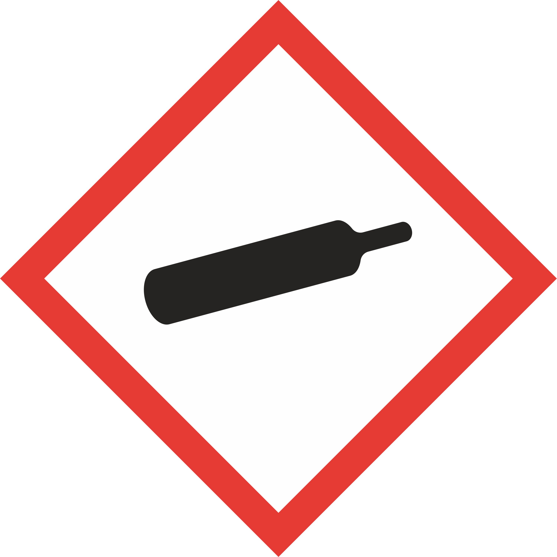 GHS04 - Gas cylinder