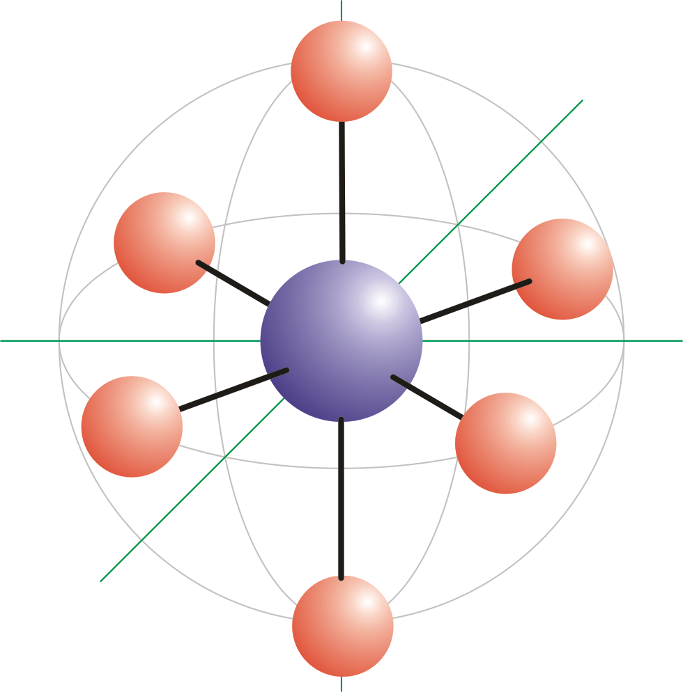 octahedral molecular geometry chemistry dictionary