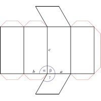 how to draw a hexagonal unit cell